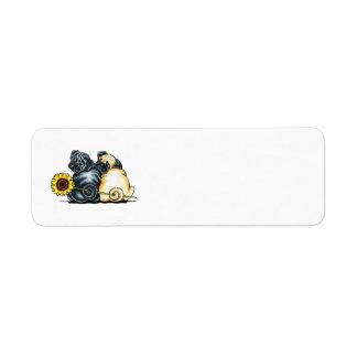 Sunny Pugs Label