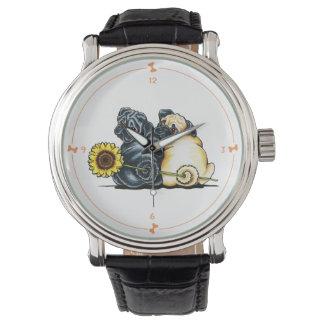 Sunny Pugs Watch