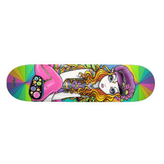 """""""Sunny"""" Rainbow Butterfly Fairy Skateboard"""