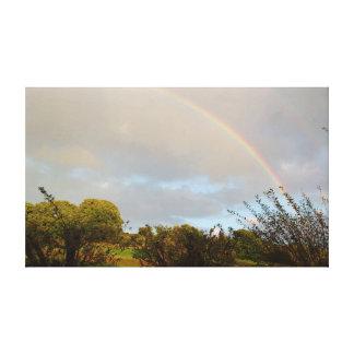 Sunny Rainbow Canvas Print