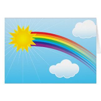 Sunny Rainbow Card
