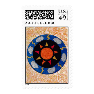 """Sunny Rays"" 49 cent Denomination US Stamps! Postage"