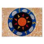 """""""Sunny Rays"""" 7 x 5 inch Poster by Sunny Crittenden"""