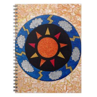 """Sunny Rays"" 80-Page, Spiral-Bound Notebook! Notebook"