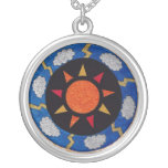 """""""Sunny Rays"""" Silver-Plated Necklace!"""