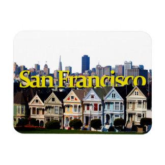 Sunny San Francisco w/ San Francisco in the Sky Rectangular Photo Magnet