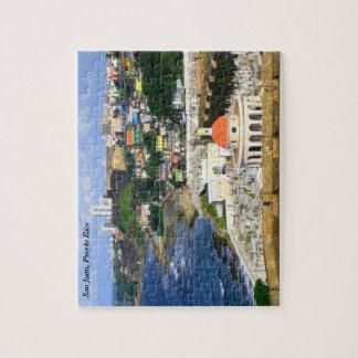 Sunny San Juan Puerto Rico puzzle