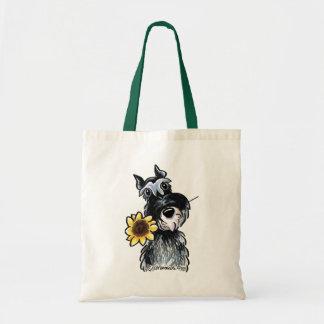 Sunny Schnauzer Classic Budget Tote Bag