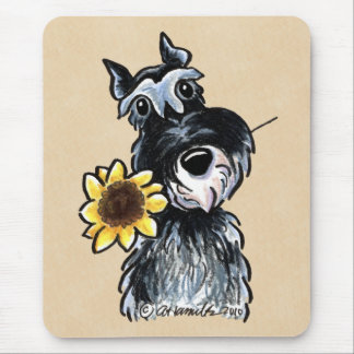 Sunny Schnauzer Classic Mouse Pad