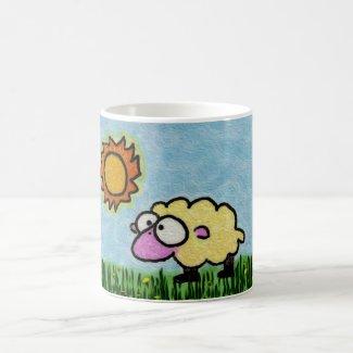 Sunny Sheep Coffee Mugs
