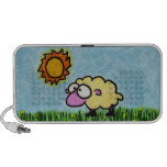 Sunny Sheep iPhone Speakers