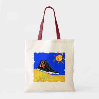 """""""Sunny Shoe"""" by Katie winner 08.03.09 Budget Tote Bag"""