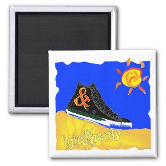 """""""Sunny Shoe"""" by Katie winner 08.03.09 Magnet"""