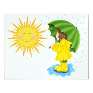 Sunny Showers - SRF Custom Invitations