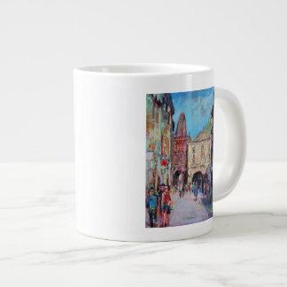 Sunny Side Prague Giant Coffee Mug