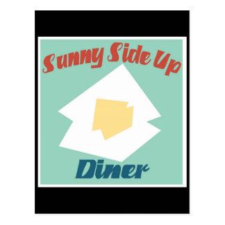 Sunny Side Up Diner Postcard