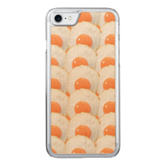 Sunny Side Up Eggs Carved iPhone 7 Case