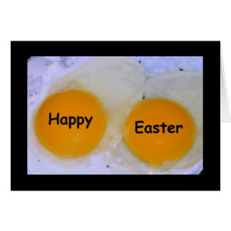 Sunny Side Up Eggs Easter Card