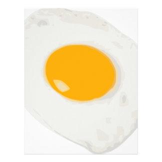 Sunny Side Up Fried Egg Letterhead