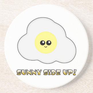 Sunny Side Up Kawaii Egg Drink Coasters