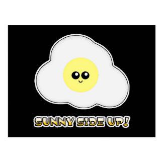 Sunny Side Up Kawaii Egg Post Card