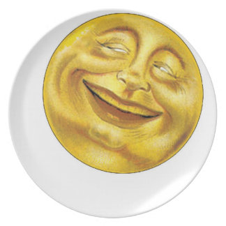 Sunny Side Up Melamine Plate