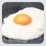 Sunny-side Up Square Sticker