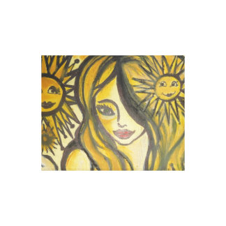 Sunny Side Up Wrapped Canvas