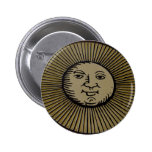 Sunny Sign Pinback Button