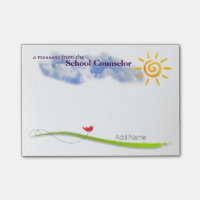 Sunny Skies Custom School Counselor Notes