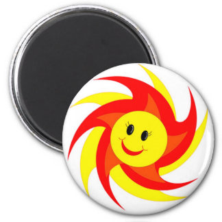 Sunny Smiley Face Magnets