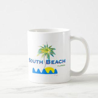 Sunny South Beach, Florida Coffee Mug