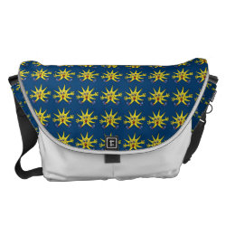 sunny star courier bag