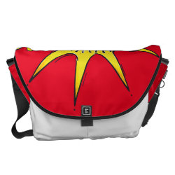 sunny star courier bag