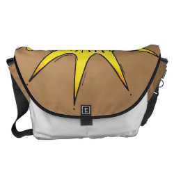 sunny star messenger bag