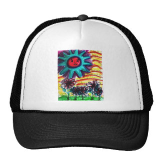 Sunny Summer Day Trucker Hats