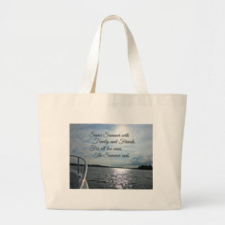 Sunny Summer on the Water. Canvas Bag