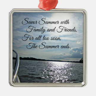 Sunny Summer on the Water. Christmas Ornaments