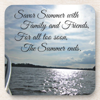 Sunny Summer on the Water. Drink Coasters