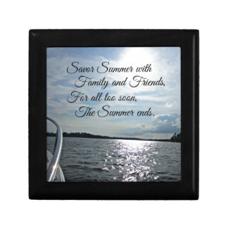 Sunny Summer on the Water. Gift Box