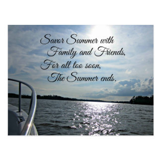 Sunny Summer on the Water. Post Cards