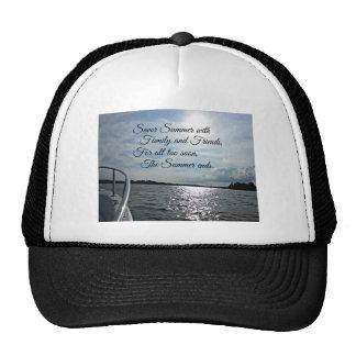 Sunny Summer on the Water. Trucker Hat