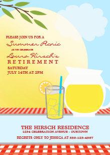summer picnic invitations zazzle