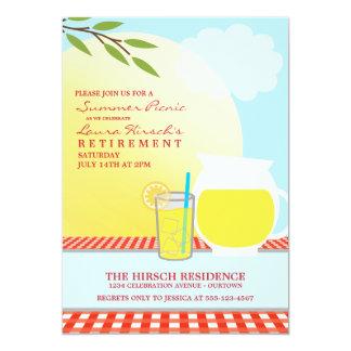 Sunny Summer Picnic Party Invitations