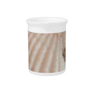 Sunny Summer Sea Shells Romantic, Exotic Tropical Drink Pitcher