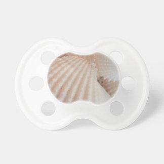 Sunny Summer Seashells. Romantic, Exotic Tropical Pacifier