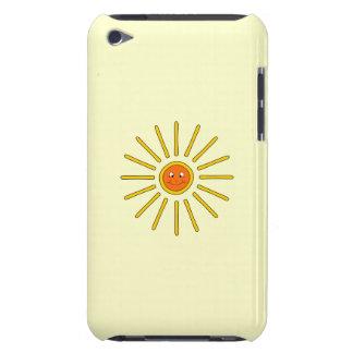 Sunny Summer Sun Yellow on Cream Case-Mate iPod Touch Case