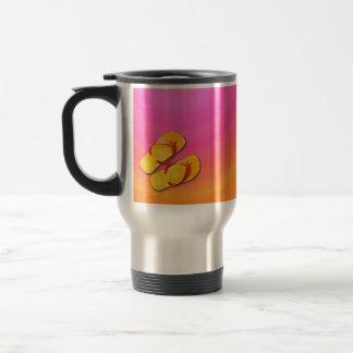 sunny summer travel mug
