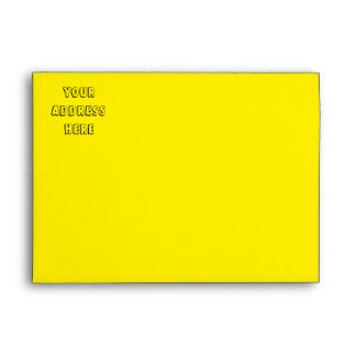 Sunny Summers Envelope