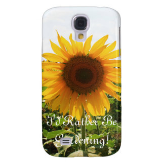 Sunny Sunflower Galaxy S4 Cover